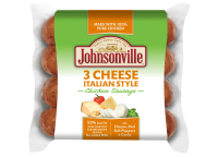 Three Cheese Italian Style Chicken <br/>Sausage Links