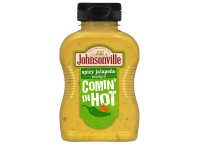Comin' in Hot! Spicy Jalapeno Mustard
