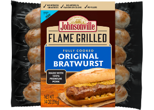 Flame Grilled Original Bratwurst