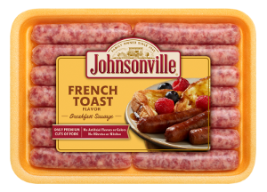 French Toast Flavor Breakfast Sausage