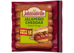 Jalapeño and Cheddar Smoked Sausage Links (Party Pack)