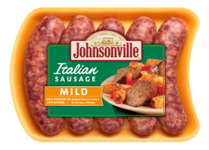 All Natural Fresh Italian Mild Ground Sausage Linked