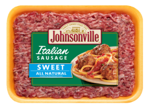 All Natural Fresh Italian Sweet Ground Sausage