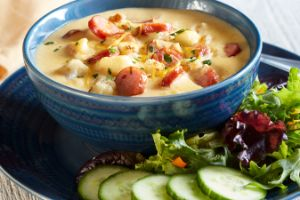 Image of Beddar Cheddar Cauliflower Soup