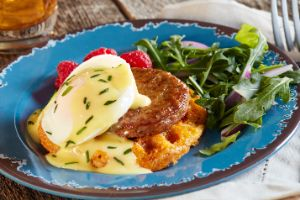 Image of Sunrise Chaffle Benedict