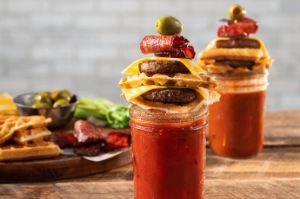 Image of Sausage Waffle-wich Bloody Mary