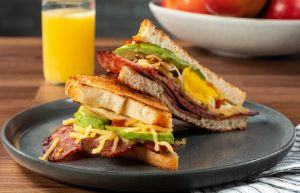 Image of Spicy Sausage Breakfast Grilled Cheese