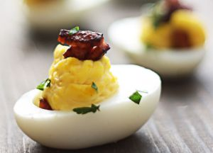 Image of Johnsonville Andouille Sausage Deviled Eggs
