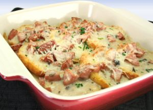 Image of Biscuit & Gravy Smoked Sausage Casserole