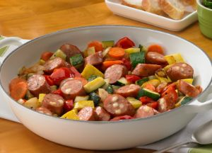 Image of Bountiful Garden Sausage Bake