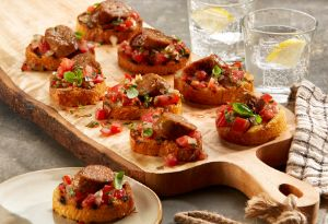 Image of Johnsonville Sweet Basil Bruschetta