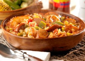 Image of Cajun Chicken Sausage Jambalaya
