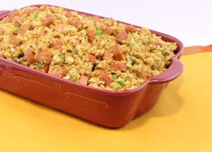 Cajun Country Cornbread Stuffing