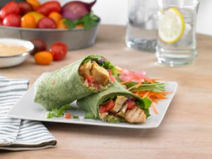 Image of California Club Chicken Wraps