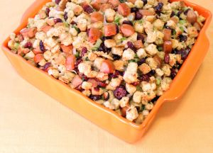 Image of Chicken Sausage Stuffing with Cranberries and Orange