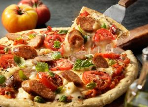 Image of Classic Pizza Margherita -- Sizzling Sausage Grill Recipe
