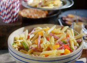 Image of Cool Garlic Summer Pasta Salad