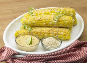 Image of Corn on the Cob with Johnsonville Mustard-Mayo
