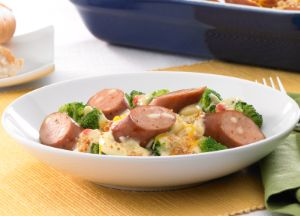 Image of Creamy Divan with Johnsonville Three Cheese Italian Style Chicken Sausage