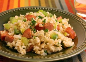 Image of Dirty Rice with Andouille Sausage