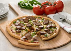 Image of Easy Italian Sausage Pizza