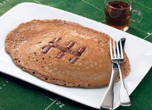 Image of Football Sausage Pancakes