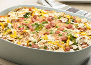Image of Hot & Cheesy Smoked Sausage Casserole