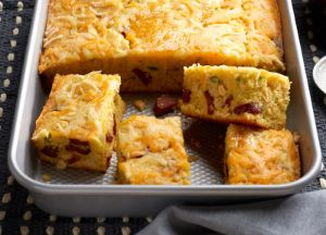 Image of Hot Links Cheesy Corn Bread