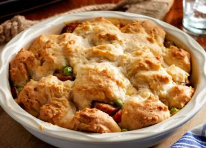 Image of Hurry Up Biscuit Chicken Sausage Pot Pie