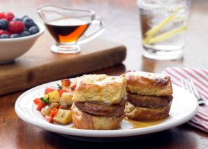Image of Individual Sausage Stuffed French Toast