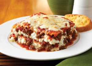 Italian All Natural Ground Sausage Lasagna