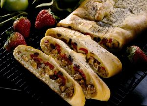 Image of Italian Sausage Appetizer Bread