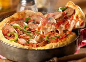 Image of Italian Sausage Deep Dish Pizza