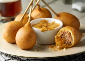Image of Italian Sausage Lollipops