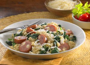 Image of Three-Cheese Sausage & Rice Florentine