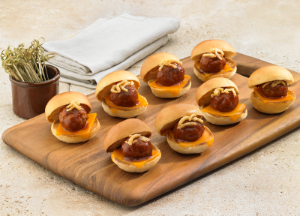 Johnsonville® BBQ Meatball Sliders