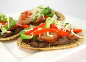 Image of Johnsonville Cajun Chicken Sausage Fajita Tostada
