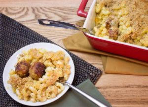 Image of Johnsonville® Homemade Mac & Cheese with Meatballs