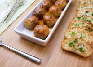 Johnsonville® Pineapple Rum Chili Glaze with Meatballs