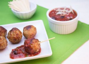 Image of Johnsonville® Sweet & Spicy Sauce with Meatballs