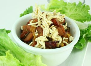 Image of Lettuce Wraps with Johnsonville Apple Chicken Sausage