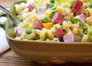 Image of Macaroni & Summer Sausage Salad