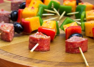 Image of Marinated Summer Sausage Kabob
