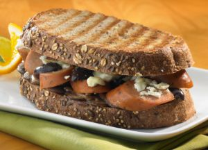 Image of Mediterranean Panini with Johnsonville Three Cheese Italian Style Chicken Sausage