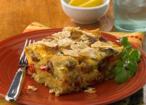 Image of Mexican Tortilla Breakfast Casserole