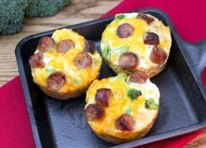 Image of Mini Quiches -- Sizzling Sausage Grill Recipe