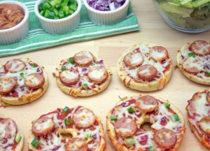 Image of Mini Sausage Pizzas