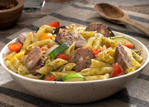 Image of Pesto Penne with Italian Four Cheese Sausage