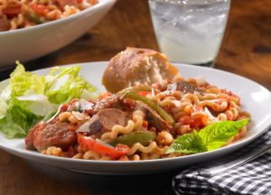 Image of Johnsonville® Italian Sausage and Pepper Medley Pasta