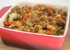 Johnsonville Italian Sausage Root Vegetable Hash